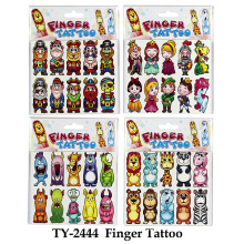 Funny Finger Tattoo